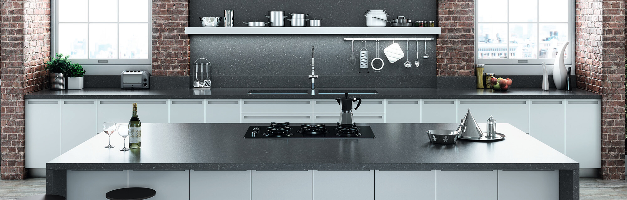 Choose an Essastone benchtop as your kitchen benchtop - Essastone kitchen benchtops are quality engineered benchtops that give every kitchen a modern feel and touch