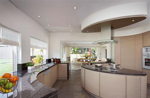 Even mink veneer kitchen