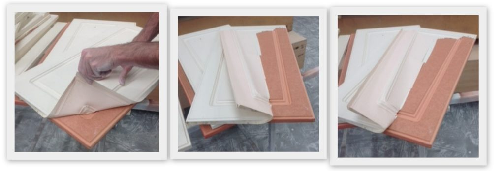Kitchen Cabinets How To Remove Peeling Vinyl Dianella