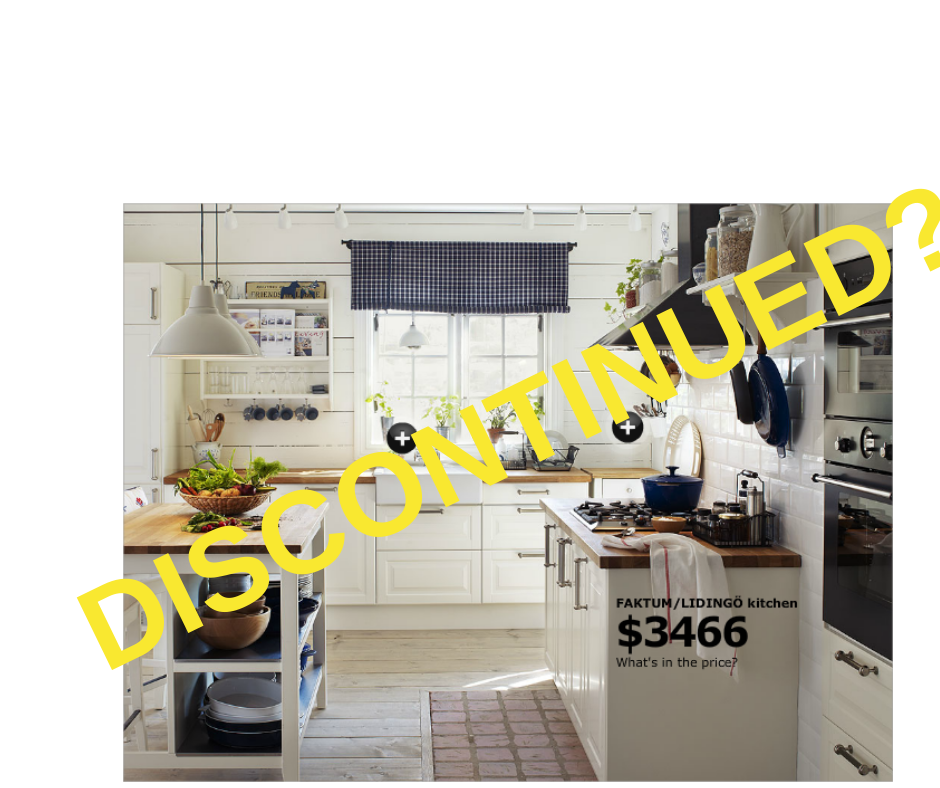 Dianella Polishing can help you when you are stuck wuith a discontinued IKEA Kitchen