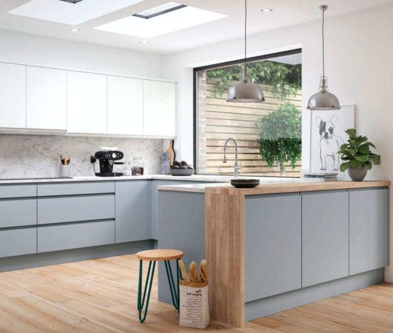 handle less kitchens trend check - we have checked the latest hype in kitchen design for you and know how to best get the strewam line fresh design for your kitchen