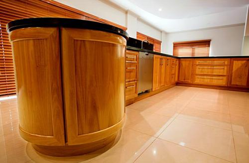 WA Blackbutt interior kitchen